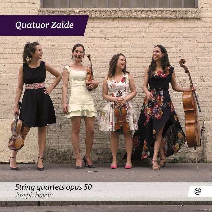 Joseph Haydn | String Quartets op.50 - Quatuor Zaïde