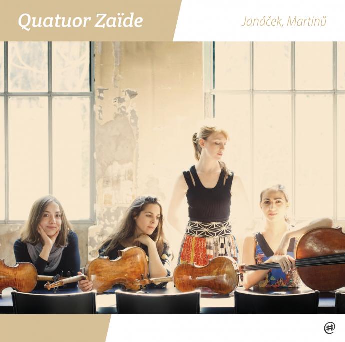 Janacek, Martinu  - Quatuor Zaïde