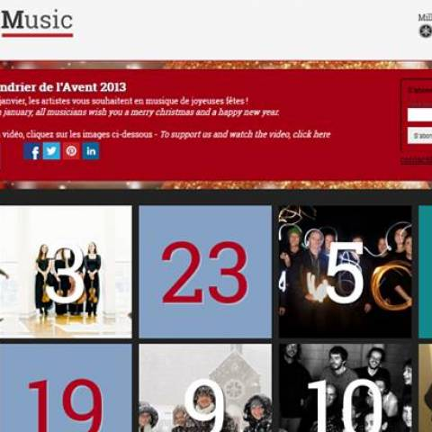 NoMadMusic sort son calendrier de l'Avent musical