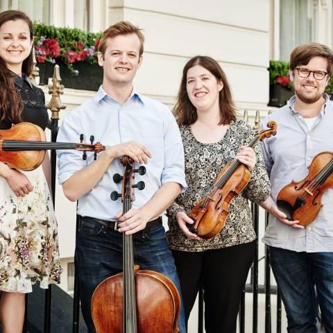 Le Castalian Quartet, grand vainqueur du concours de Lyon !