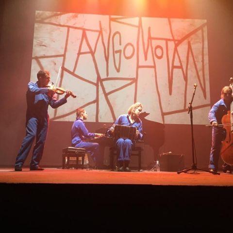Carton plein à la Cigale pour Tangomotán !