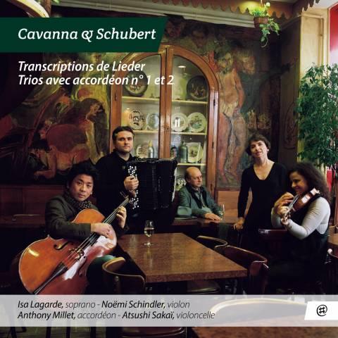 Trios & Lieder transcriptions - Cavanna & Schubert