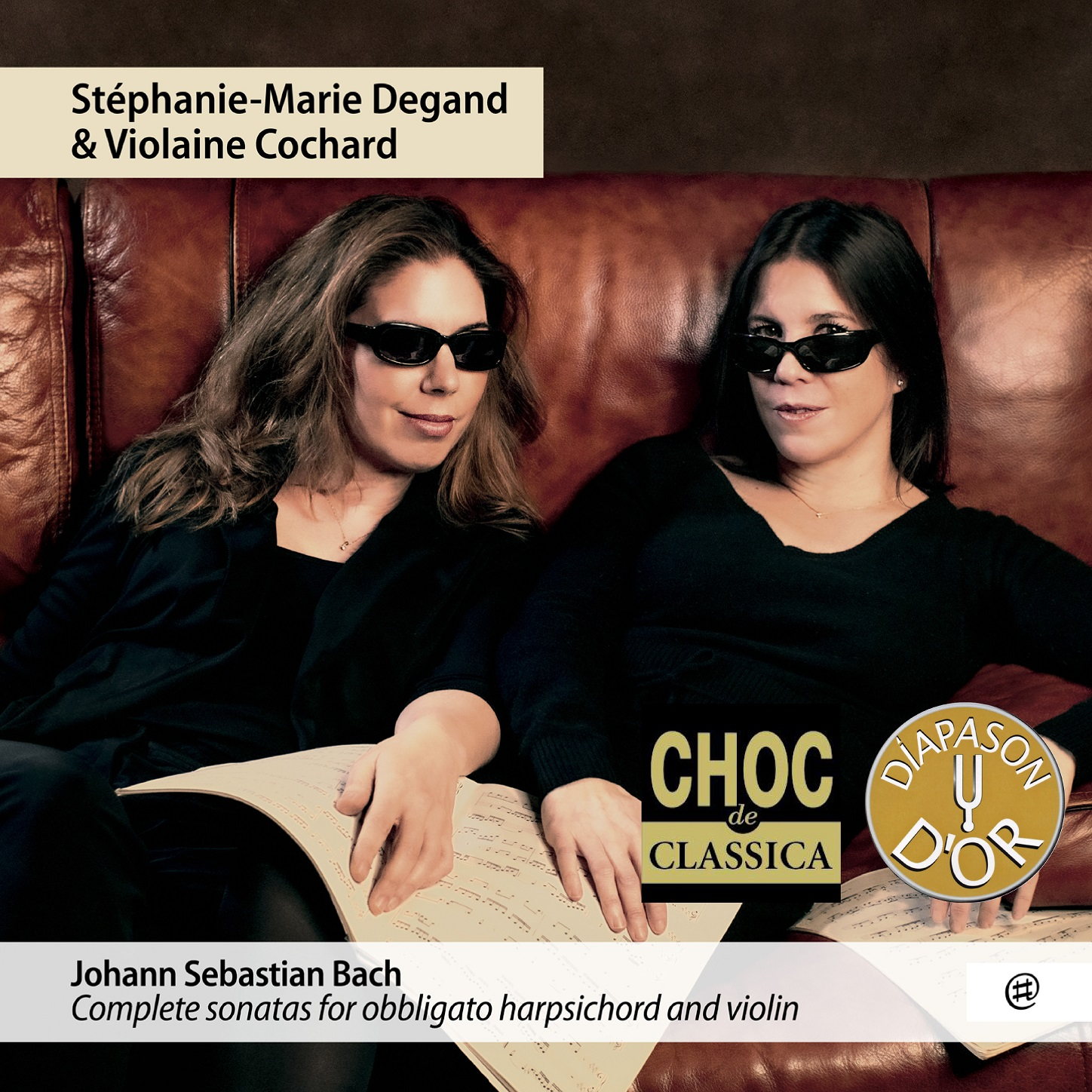 Complete sonatas for obbligato harpsichord and violin - Stéphanie-Marie Degand, Violaine Cochard
