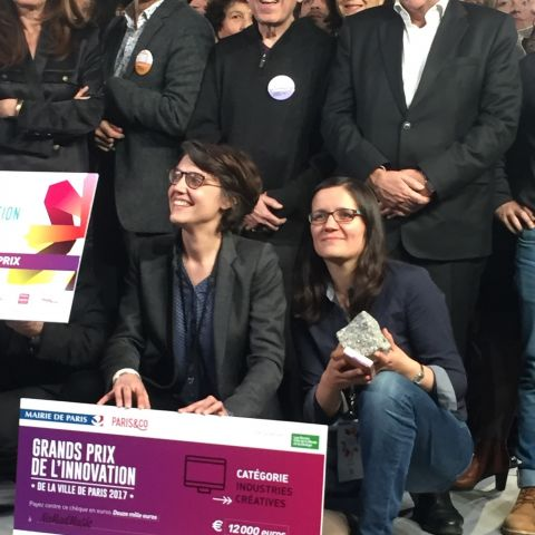 NoMadMusic remporte le Grand Prix de l'Innovation de la Ville de Paris